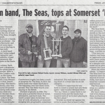 The Sentinel Echo – Battle of the Bands Winners Article