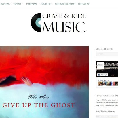 Crash & Ride Music Reviews 'Give up the Ghost'
